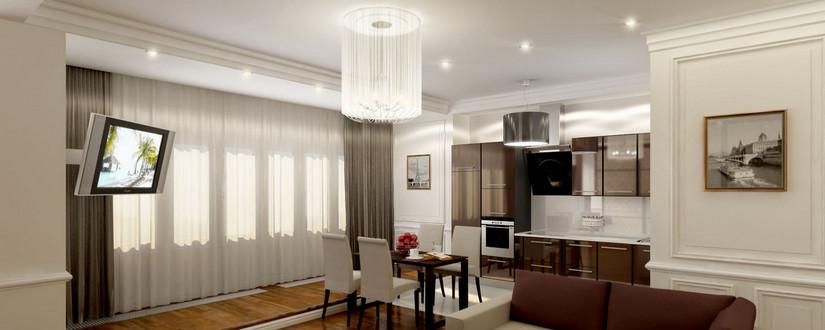 Капитальный ремонт квартир под ключ в Москве, офисов