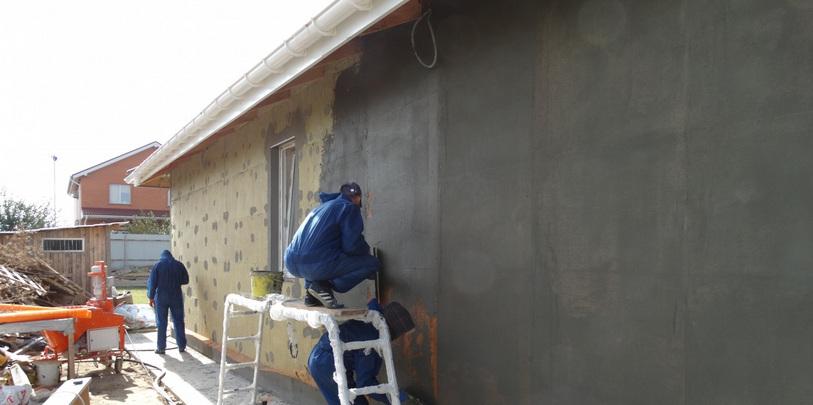 Утепление фасадо зданий в Минске